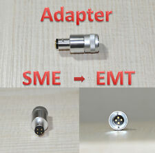 Adapter EMT Cartridge -> SME Headshell also Ortofon Type A or C  -Made in Japan-