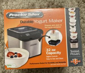Proctor Silex Digital Yogurt Maker 32 oz. Capacity 86300 Easy to Use and Clean