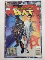 BATMAN SHADOW OF THE BAT ANNUAL #2 (1994) DC COMICS ELSEWORLDS NEWSSTAND VARIANT
