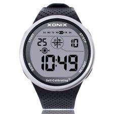 XONIX Mens Sports Wristwatch Digital Self-Calibrating WR100M Swim Outdoor Watch