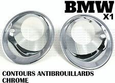 BMW E84 X1 2009-2013 CONTOUR CHROME CACHE COUVRE ANTI-BROUILLARD 23d 25d 25i 28i