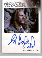 STAR TREK - VOYAGER - QUOTABLE - ED BEGLEY JR. AS HENRY STARLING VL - NNO - AUTO