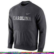 ($75) NIKE North Carolina Tar Heels HYBRID FLEECE Sweatshirt Jersey ADULT MENS s
