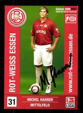 Hilko Ristau Autogrammkarte Rot Weiss Essen 2006-07 Original Sig+A 131226