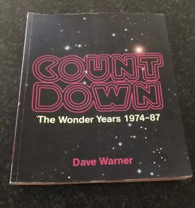 COUNTDOWN - The Wonder Years - 1974 -1987 BOOK .