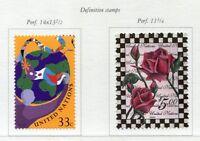 19300) United Nations (New York) 1999 MNH Def 2v