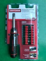 New! Craftsman Ratcheting Ready-Bit Screwdriver #41796 Made In USA.