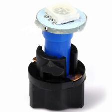 10x T5 PC74 Twist Socket Instrument Panel Cluster Blue Dash Led Light Bulb 12VDC
