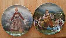 """New ListingKnowles 8-1/2"""" Collector Plates 1 & 2: """"Do-Re-Mi"""" & """"Sound Of Music"""""""
