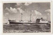Royal Netherlands Steamship Co. Jason Shipping RP Postcard B639