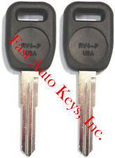 2 (PAIR) NEW Land Rover Uncut Key Blank Discovery 1994-2004 RV4-P - MADE IN USA