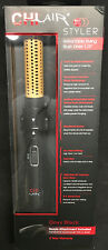 """Chi Air Tri Styler 1.25"""" Ceramic Retractable Styling Brush Dryer D9"""