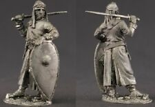 tin toy soldiers unpainted  54mm medieval knight