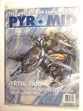 Steve Jackson Games PYRAMID MAGAZINE #13 + TWO FREE MTG ICE AGE CARDS Inside