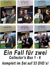 33 DVDs * EIN FALL FÜR ZWEI - COLLECTOR´S BOX 1 - 6 IM SET # NEU OVP !