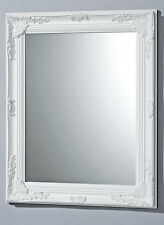 HIGH QUALITY WALL MIRROR IN WHITE MODEL BAROQUE 82x62cm mirror BAROQUE MIRROR