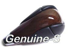 OEM 2010 - 2015 RX350 RX450h ES300 ES350 Dark Walnut Wood / Leather Shift Knob