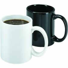 11 Oz Ceramic Coffee Mug Black, Case Of 36