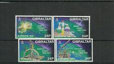 GIBRALTAR-SG717A-720-EUROPA SCIENTIFIC DISCOVERIES-MNH
