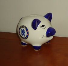 Official Chelsea FC Ceramic Football Team Badge Piggy Bank Gift Idea