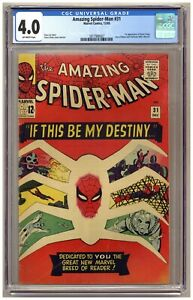 Amazing Spider-Man 31 (CGC 4.0) 1st appearance of Gwen Stacy; Steve Ditko C110