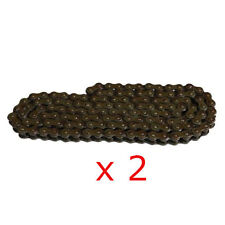 428 Chain 80 Links w MASTER LINK standard Chain 428 x 80 Motorcycle Qty:2 New
