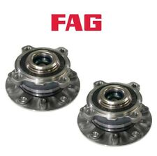 For BMW E39 M5 00-03 Set of Front Left & Right Wheel Hub w/ Bearings OEM FAG