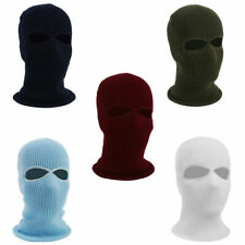 Army Tactical-Winter Warm Ski Cycling 2-Hole Balaclava-Hood Cap Full Face Mask