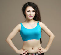 New Modal Soft Material Belly Dance Costume Yoga Blouse Top 5 Colors