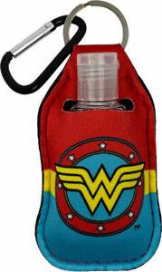 Wonder Woman Keyring (Key Chain) Key Fob Sanitizer Holder