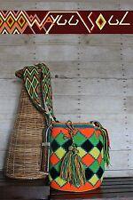 WS 100% Original Handmade Wayuu Mochila/Bag (Multi-color)