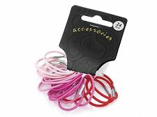 Small Thin Pink Hair Elastic Bobbles Hair Accessories UK