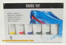 Liquitex Professional Heavy Body Acrylic 6-piece Paint Set