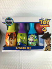 Disney Pixar Toy Story 4: Bowling Set includes 6 Pins & 1 Bowling Ball
