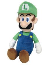 "Little Buddy 1584 Super Mario All Star Collection Luigi 15"" Medium Stuffed Plush"