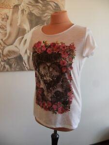 Süßes weißes Infinity Woman T-Shirt  Größe 36/38