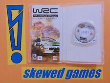 WRC FIA World Rally Championship - cib - PSP Sony