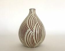 Rare Nils Thorsson Art Deco Stoneware Vase Royal Copenhagen Denmark c.1940s