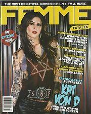 Femme Fatales Kat Von D Olivia Munn Roxy Saint Barbara Payton NM Extreme Issue