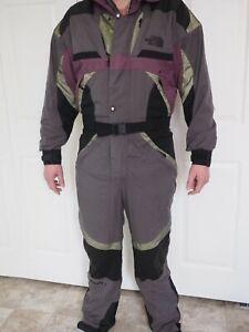 The North Face TNFX Snowboard Ski Snow Suit Vintage Mens L Large Purple Gore Tex
