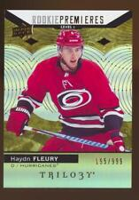2017-18 TRILOGY HOCKEY HAYDN FLEURY #54 RC ROOKIE #195/999 HURRICANES