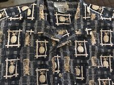 Natural Issue-size 2XL-Tropical  Mens Button Up Shirt