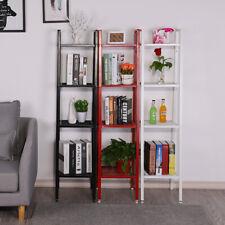 4 Tiers Ladder Step Flower Pot Plant Book Shelf Metal Wall Corner Rack Display
