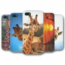 For iPhone 5 5S Silicone Case Cover Giraffe Collection 1
