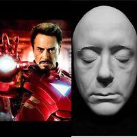 "Robert Downey Jr.Life Mask Cast ""Iron Man"" Tony Stark ""The Avengers"" Chaplin"" !"