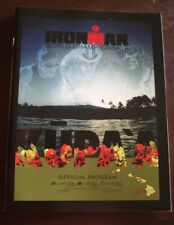 Ironman Kona Hawaii 2016 World Championship Triathlon Program Book