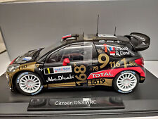 1:18 NOREV CITROEN DS3 DS 3 Rallye WRC #1 Loeb France 2013 WM black gold NEW