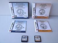 Programme d'entrainement cérébral Dr Kawashima Lot 2 jeux DS - Avancé