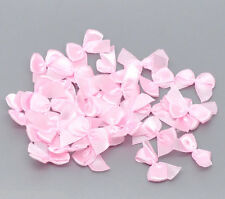 1000 Bijoux Nœuds Papillons Ruban Rose Scrapbooking 25x20mm