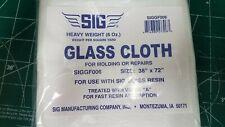 Sig Manufacturing 6 oz Heavy Weight Fiber Glass Cloth 38 x 72